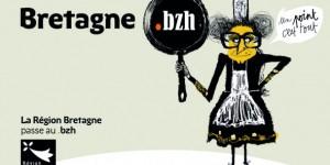 Sur Internet, la Bretagne s'affiche en .bzh