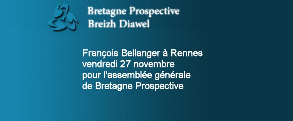 François Bellanger à Rennes vendredi 27 novembre