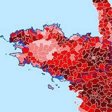 La Bretagne présente un solde démographique négatif en 2015