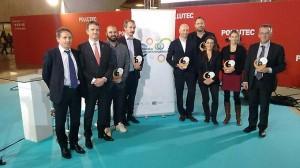 Thierry Burlot, vice-président de la Région en charge de l'environnement, a reçu l'un des 6 trophées remis par l'Institut de l'économie circulaire Région Bretagne