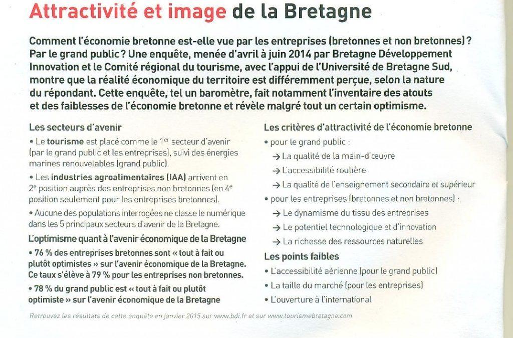 Attractivité et image de la Bretagne