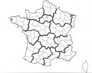 Carte 5 16 régions au lieu de 22 sont ainsi proposées pour le respect de l'identité régionale. Pour le respect de l'équilibre de la France.