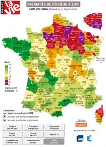 Écologie : la Bretagne dans le vert