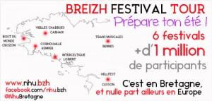 Musiques en Bretagne, premier territoire de festivals en Europe