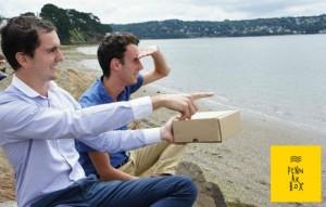 «Envoyer du bonheur à l'ensemble des terriens du monde avec des box de produits bretons»
