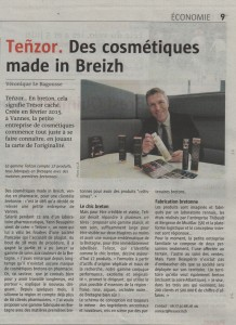 Teñzor : des cosmétiques made in Breizh