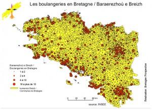 Boulangeries en Bretagne