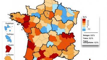 Démographie : à l'horizon 2050 l'écart se creuse entre l'Ille-et-Vilaine et le reste de la Bretagne