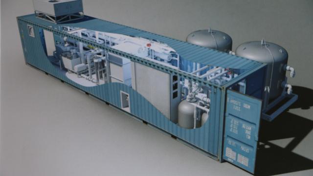 Bretagne Pôle Naval. Shelti Breizh adapte des conteneurs pour les pros