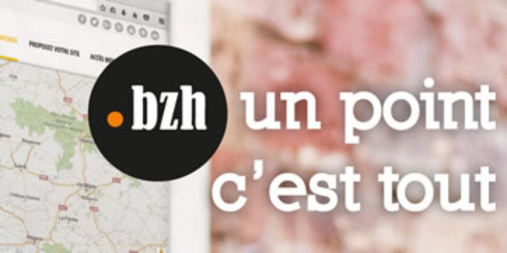 Votre nom en .bzh pour 20 € jusqu'au 15 juin