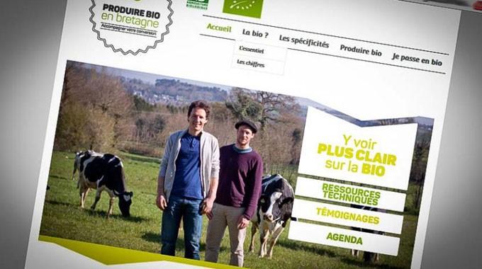 Un site pour produire bio en Bretagne