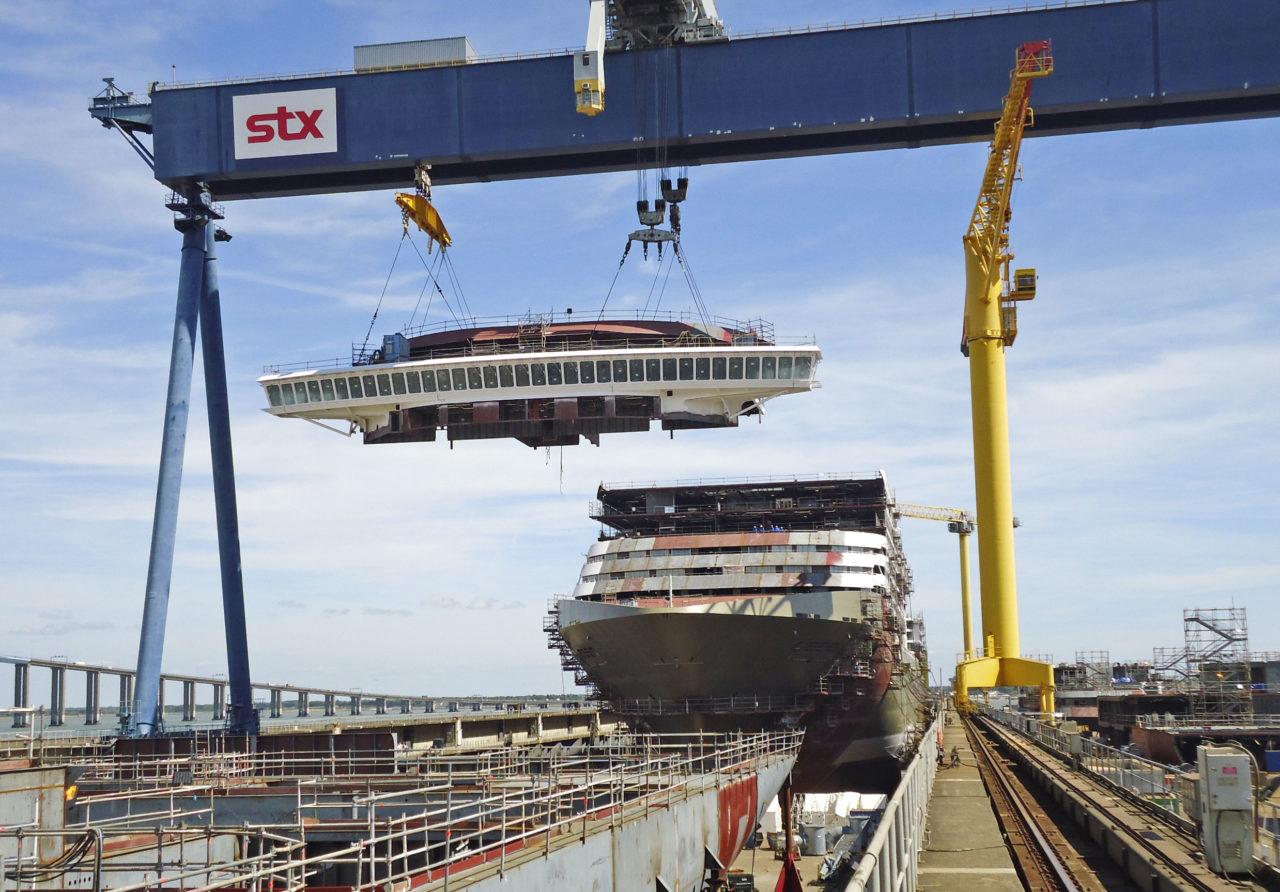 Pour un pôle d'excellence breton de la construction navale à Saint-Nazaire
