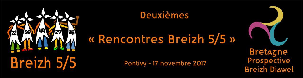 Le 17 novembre à Pontivy, «Rencontres Breizh 5/5»