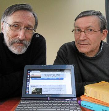 Leur Académie du gallo cartonne sur le Web