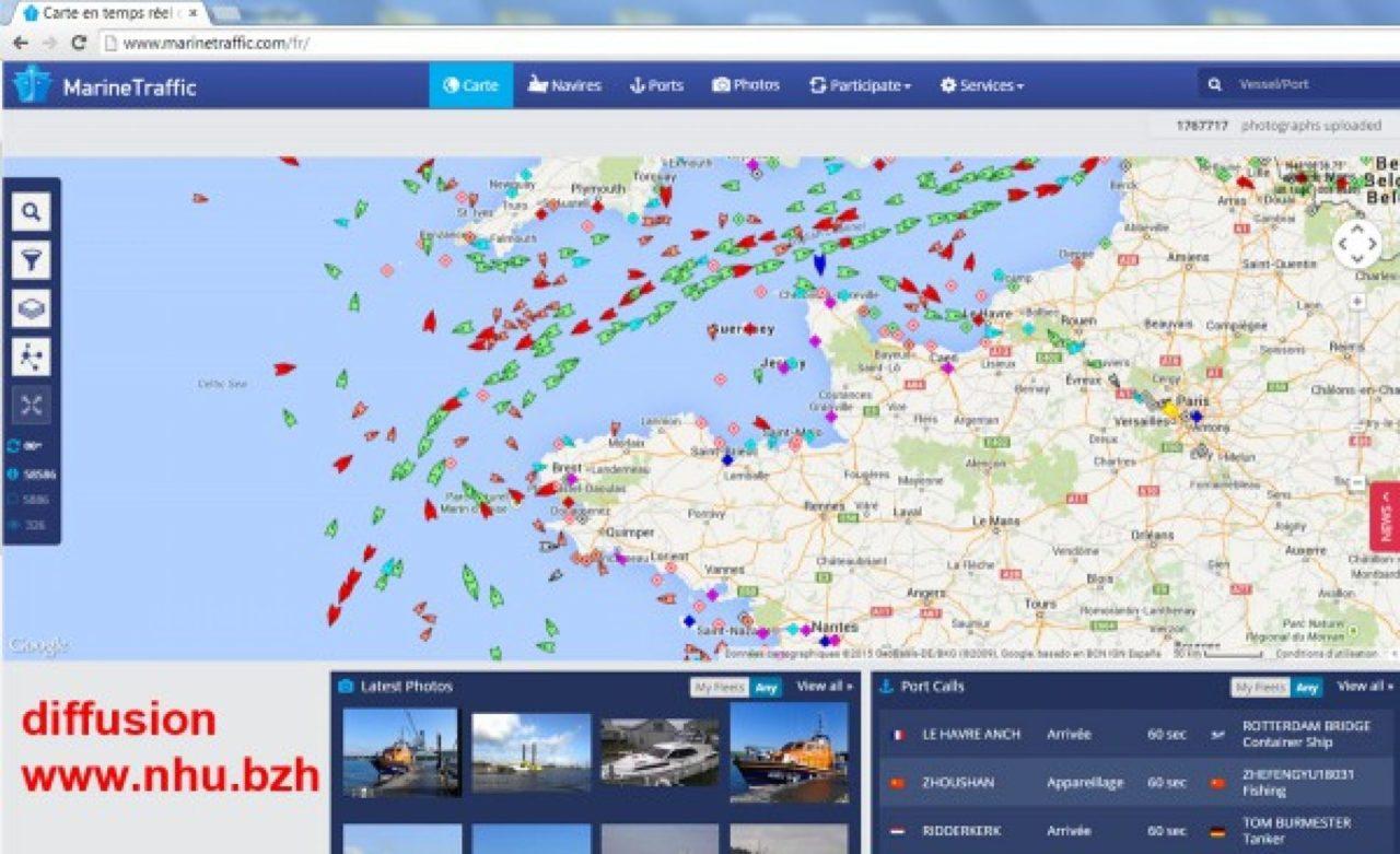 La Bretagne à l'entrée du premier couloir maritime du monde