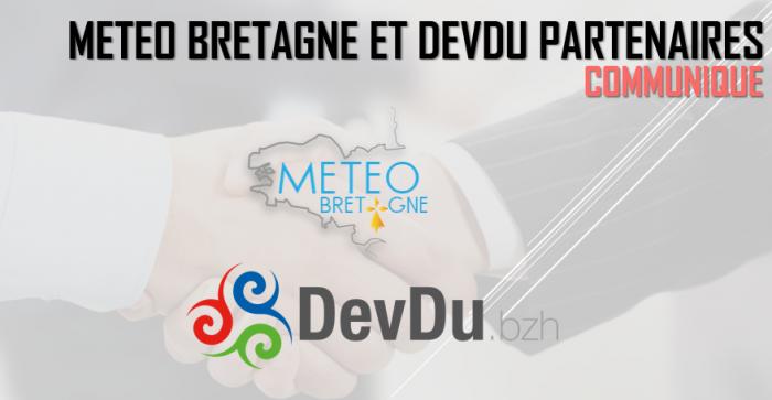 Partenariat entre Météo Bretagne et DevDu.bzh