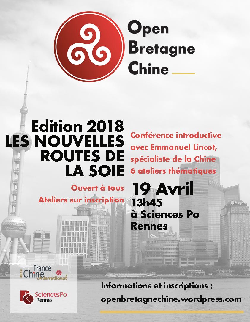 Open Bretagne-Chine : les Nouvelles Routes de la Soie