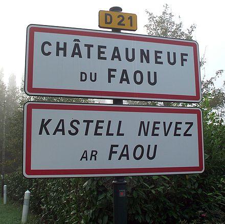 Victoire! Des panneaux bilingues breton-français seront installés sur les routes nationales