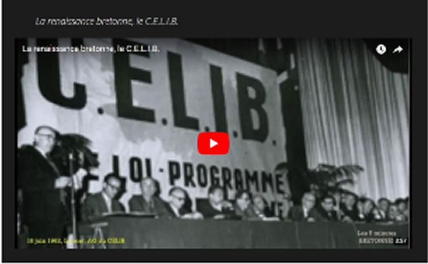 Les 5 minutes bretonnes : La renaissance de la Bretagne, le CELIB
