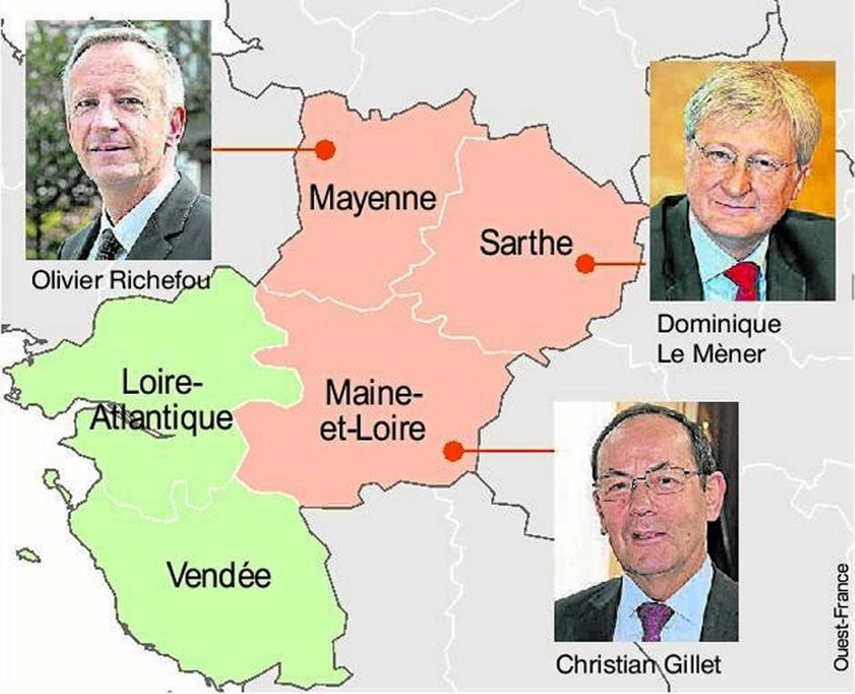 Anjou, Mayenne et Sarthe: la fusion est-elle inéluctable?