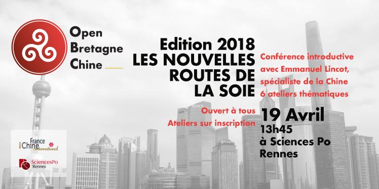 La Bretagne et les Nouvelles Routes de la Soie : forum à Sciences Po Rennes