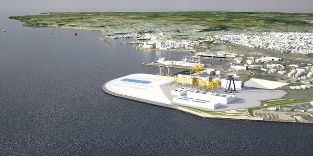 Brest : 40 hectares dédiés aux énergies marines renouvelables