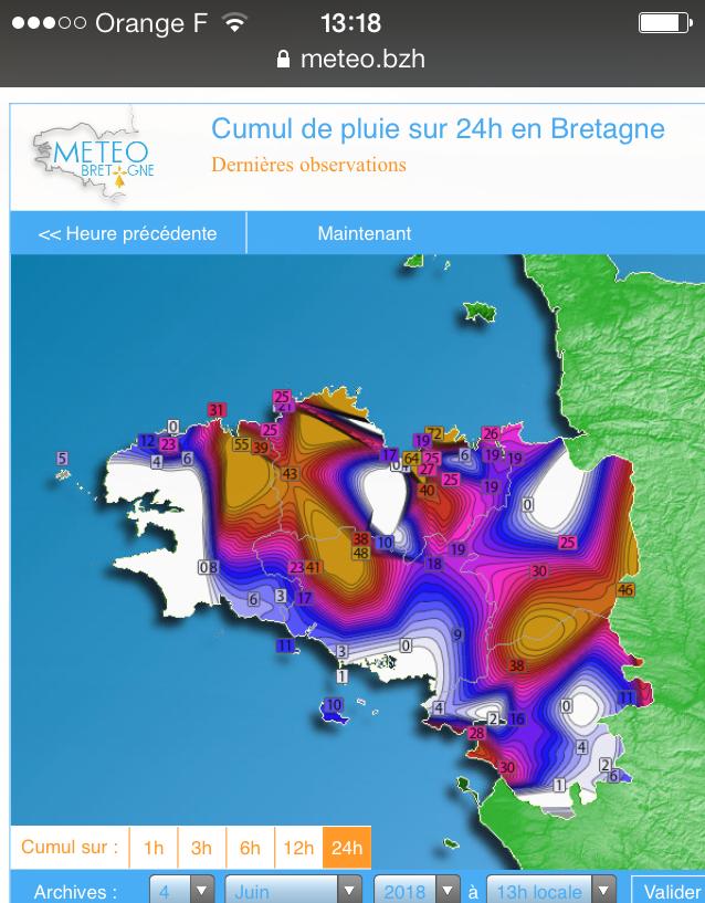 Pour une météo bretonne de précision : aux décideurs de jouer