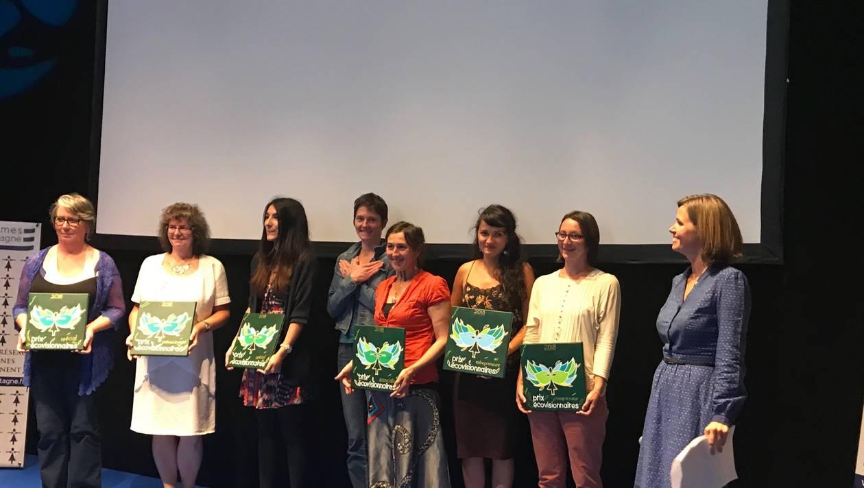 Femmes de Bretagne. Les lauréates des Prix Eco-visionnaires