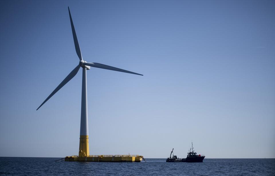 La Bretagne se positionne pour devenir la championne de l'éolien flottant