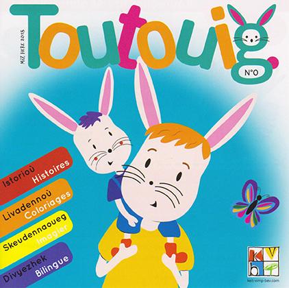 Toutouig, nouveau magazine en breton pour les tout-petits