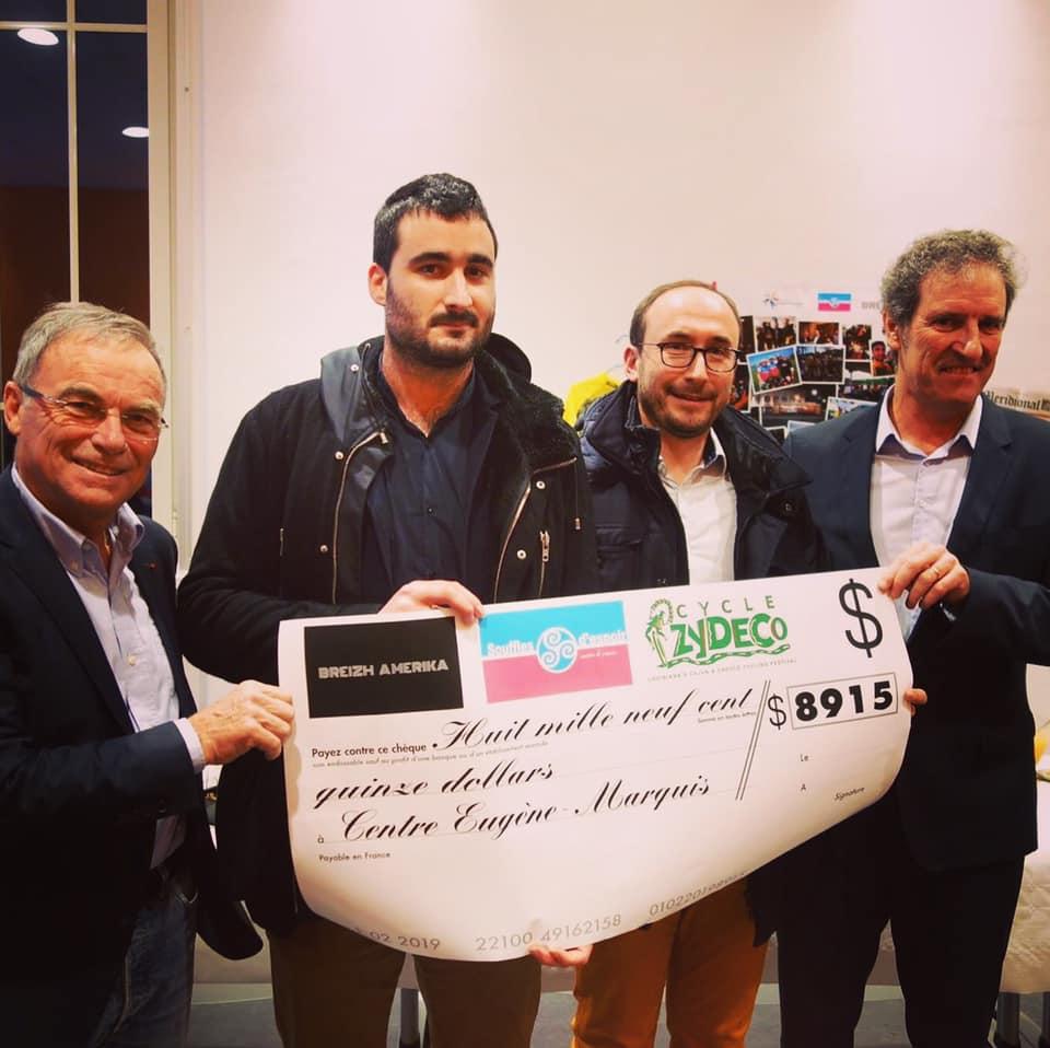 Une donation inattendue des USA pour la recherche contre le cancer en Bretagne !