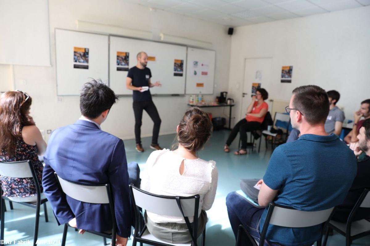 Lancement d'Ar Fabrik, le forum des jeunes Bretons engagés