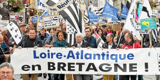 Réunification de la Bretagne. Saint-Herblain en appelle à Macron