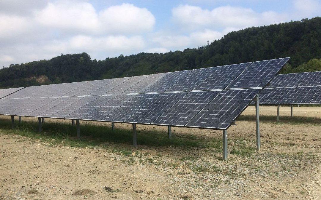 La plus grande centrale solaire bretonne inaugurée à Baud