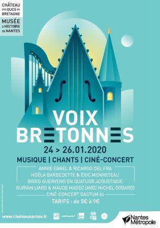 Voix Bretonnes 2020 : 11e édition à Nantes