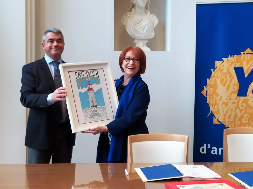 Saint-Nazaire reçoit le label breton Ya d'ar brezhoneg