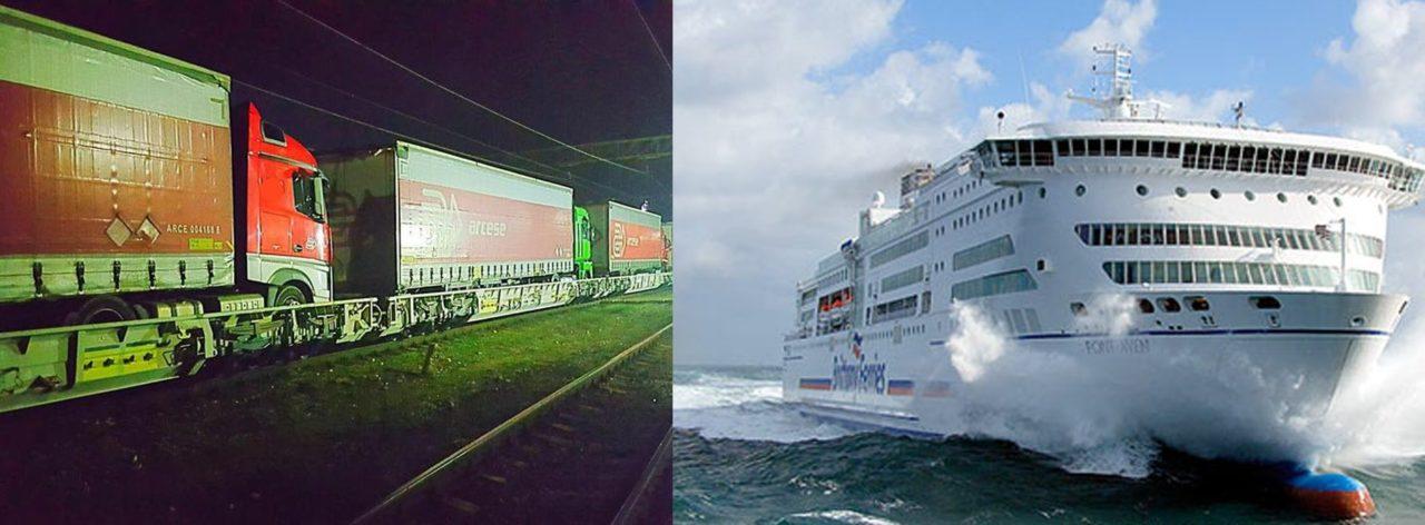 La compagnie maritime bretonne Brittany Ferries va se faire un rail !