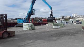 Le port de Brest inaugure un nouveau trafic avec Les Recycleurs bretons