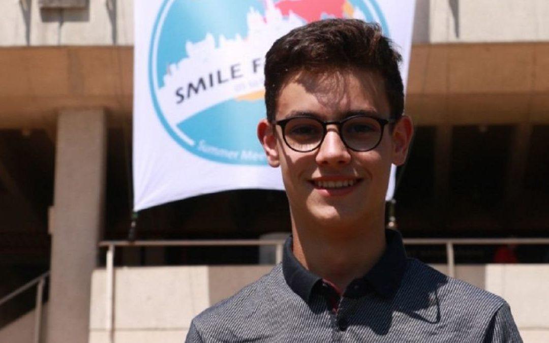 """Thomas Le Guilloux, 16 ans, milite pour sauver l'avenir des générations futures """"quoi qu'il en coûte"""""""