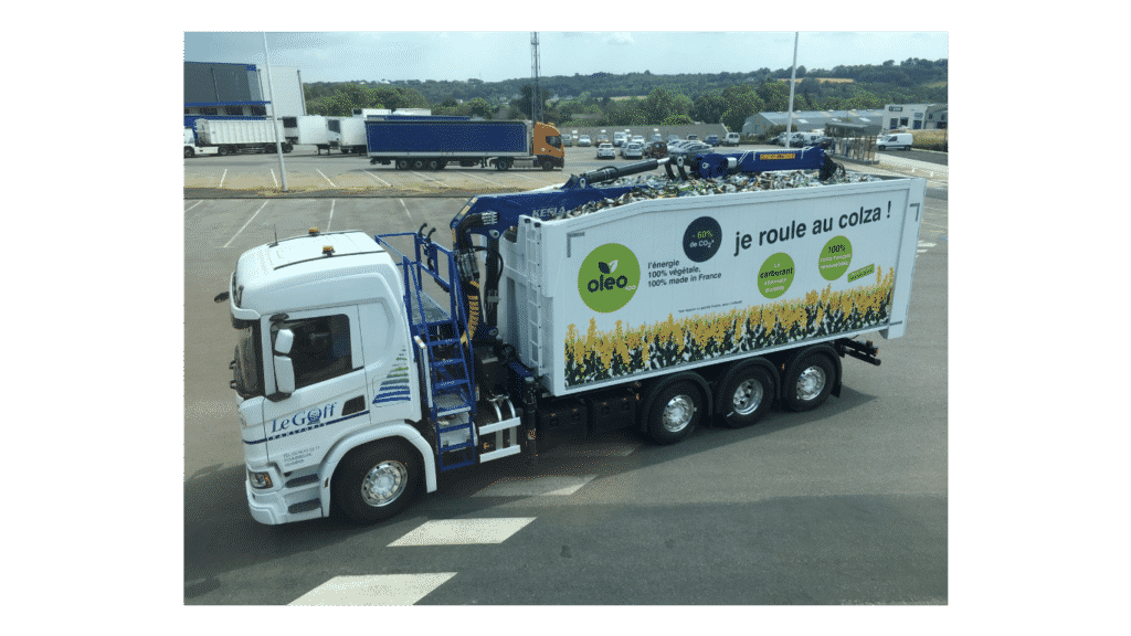 Transports Le Goff choisissent Scania biodiesel