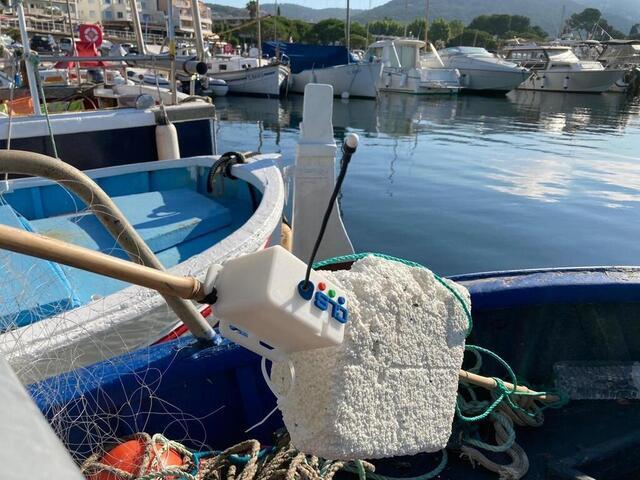 Des balises connectées pour récupérer les filets de pêche abandonnés