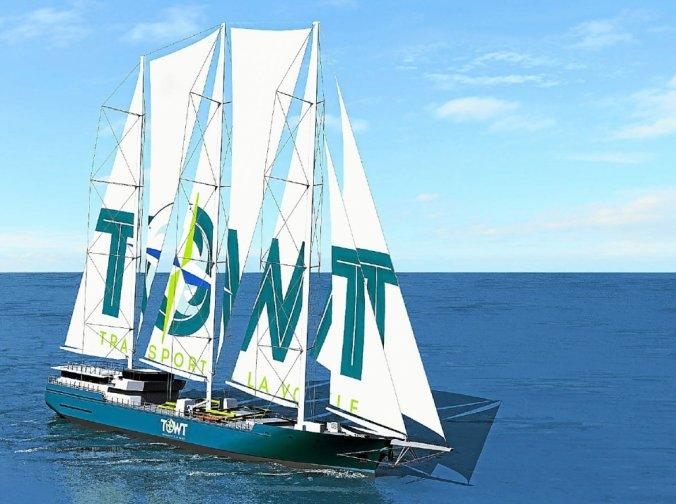 Towt : la flotte bretonne de cargos à voile va naître
