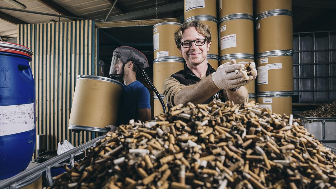 Bourg-Blanc (29). MéGO ! met le paquet sur le recyclage des filtres de cigarettes