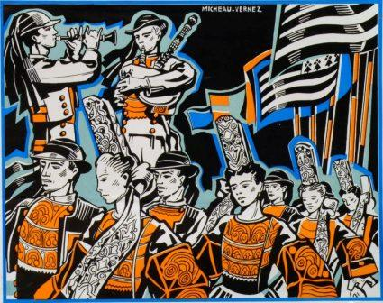 Exposition « Micheau-Vernez et les fêtes bretonnes »