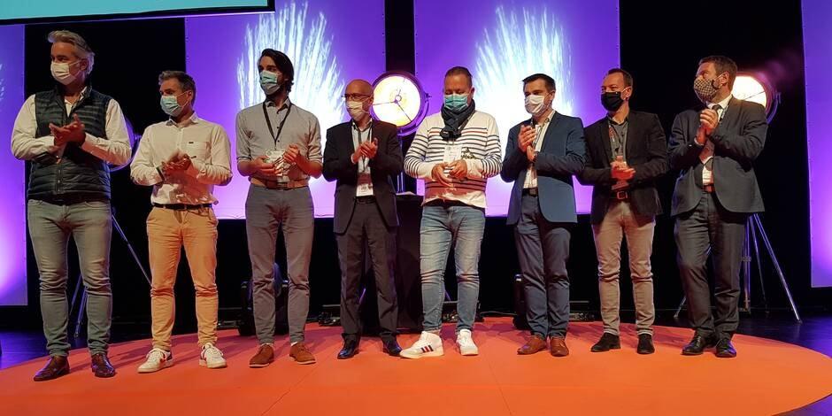 Quatre entreprises bretonnes et responsables primées à Vannes