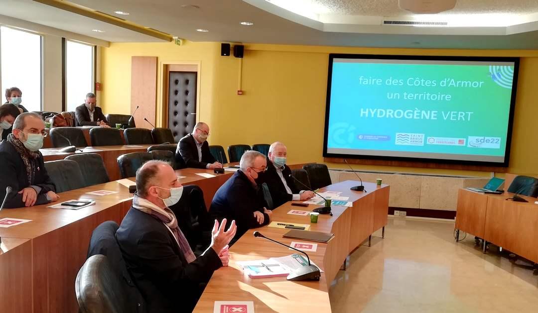 La CCI Côtes-d'Armor veut convertir les entreprises à l'hydrogène vert