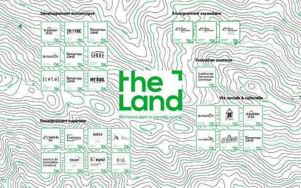 The Land, 1er campus hybride européen dédié à la Nouvelle Ruralité