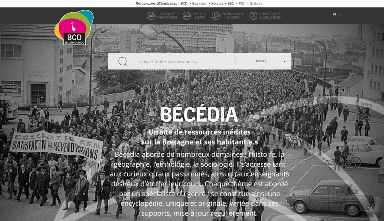 Plus de 230 dossiers thématiques à consulter sur Bécédia