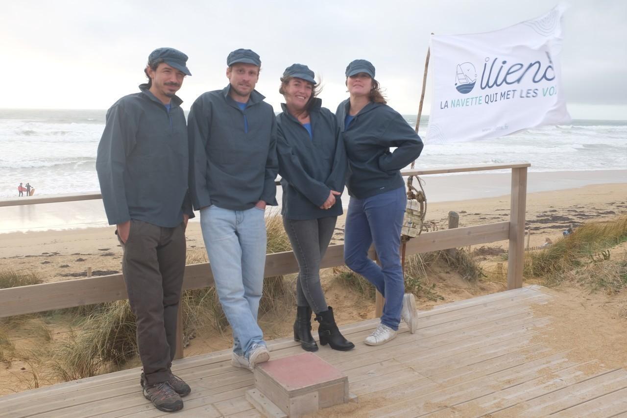 Dans le Morbihan, la première liaison maritime à la voile verra le jour au printemps 2021