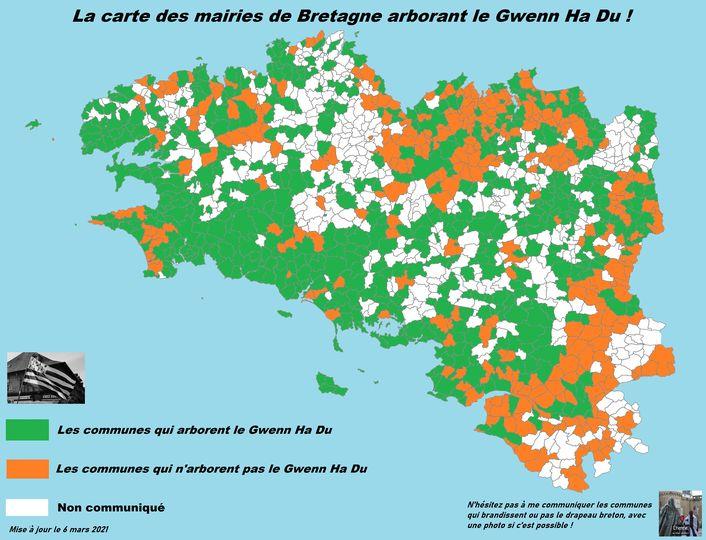 594 mairies avec le gwenn-ha-du